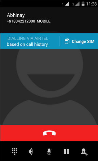 Dual SIM with intelligent calling - Motorola Support - IN